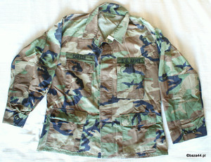 Oryg bluza US ARMY woodland Large Short TAŚMY
