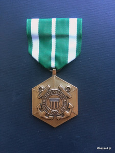 US COAST GUARD COMMENDATION MEDAL