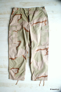 Oryginalne spodnie US ARMY DCU 3-COLOR Medium Short